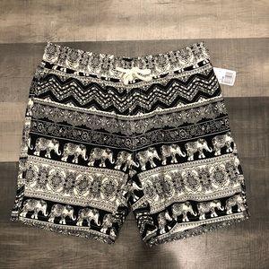 Forever 21 Thai inspired drawstring shorts NWT